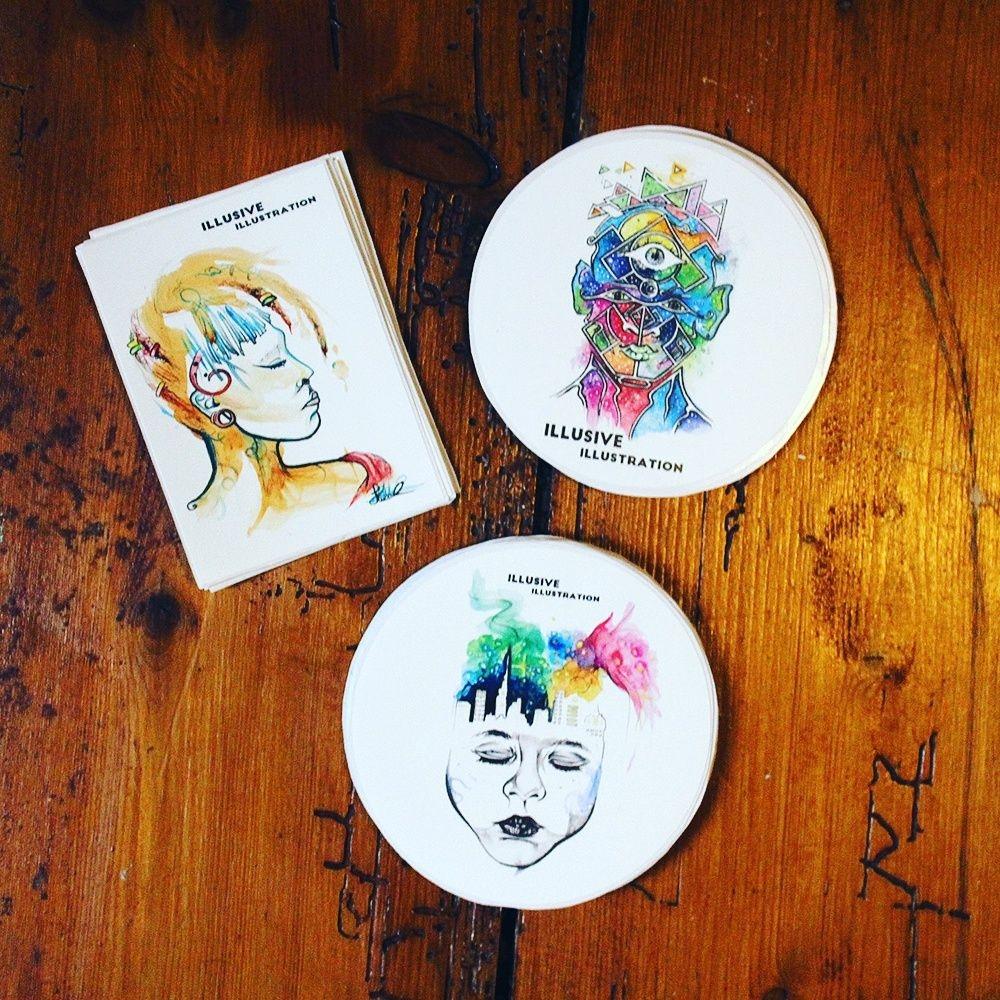 Art print stickers