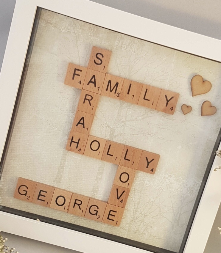 Personalised picture frames