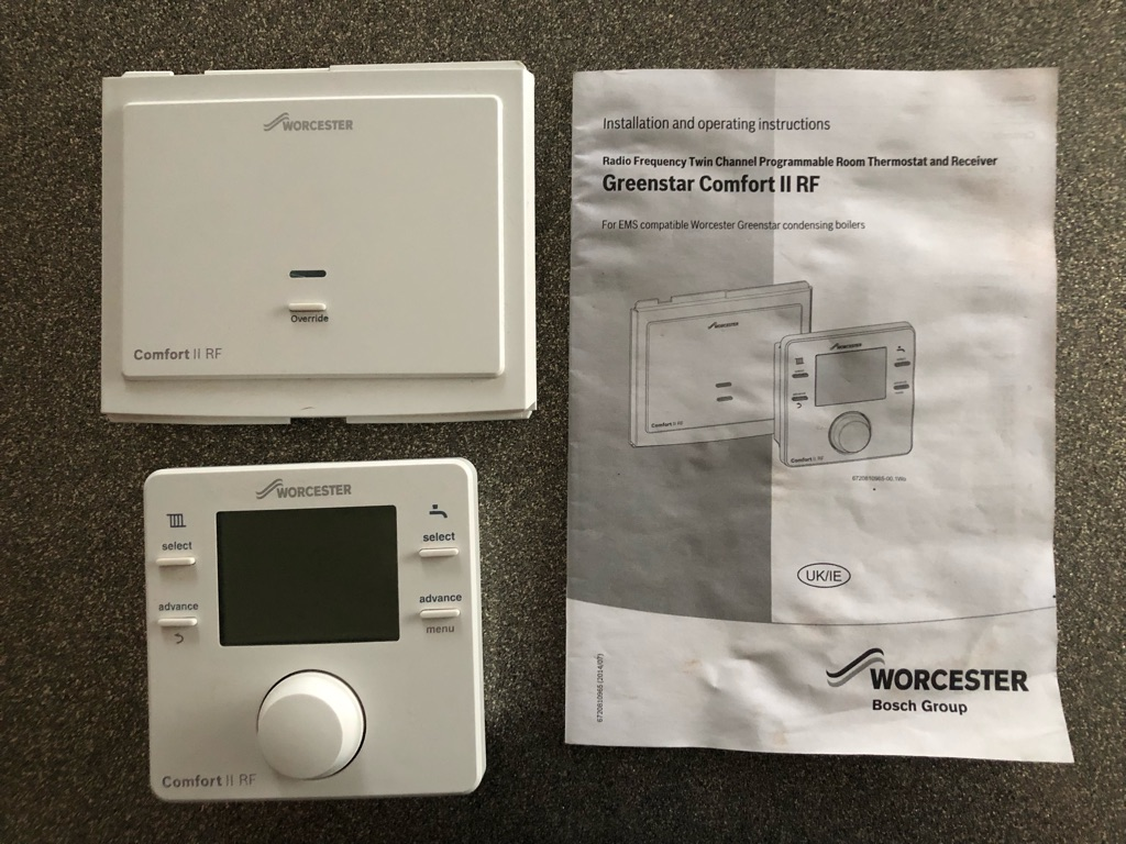Worcester Greenstar Comfort ll RF thermostat