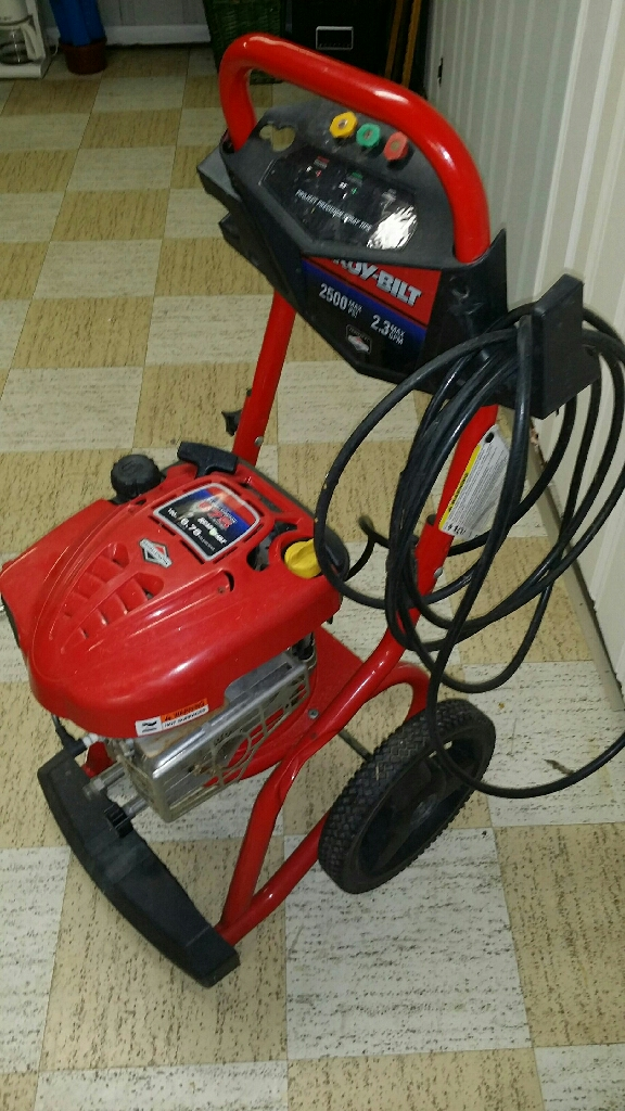 Troy-built power washer