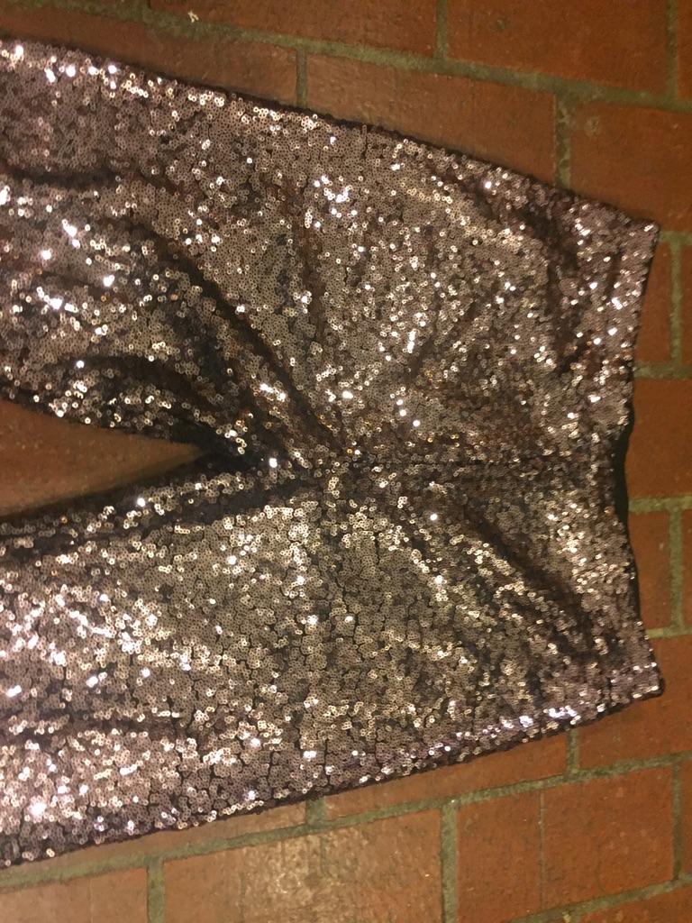 Glitter party pants