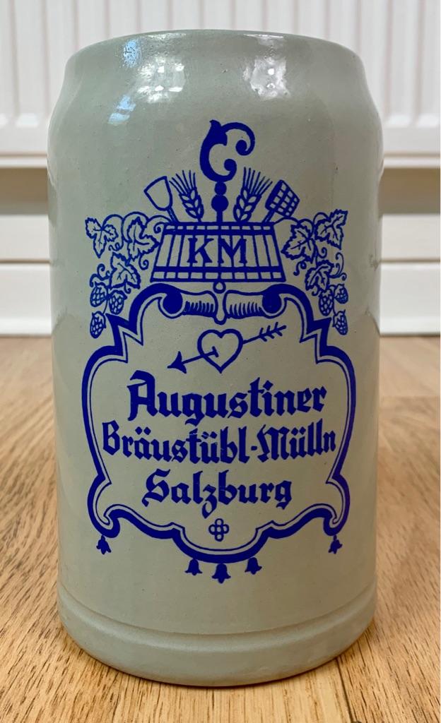 Augustiner Braustubl Mulln Salzburg Beer Stein