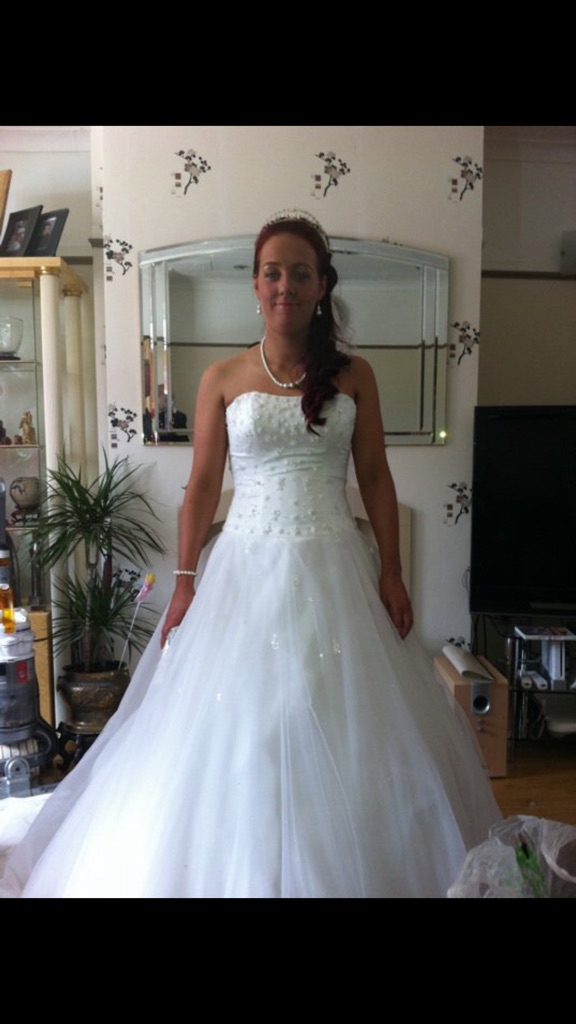 Wedding dress👰size 14