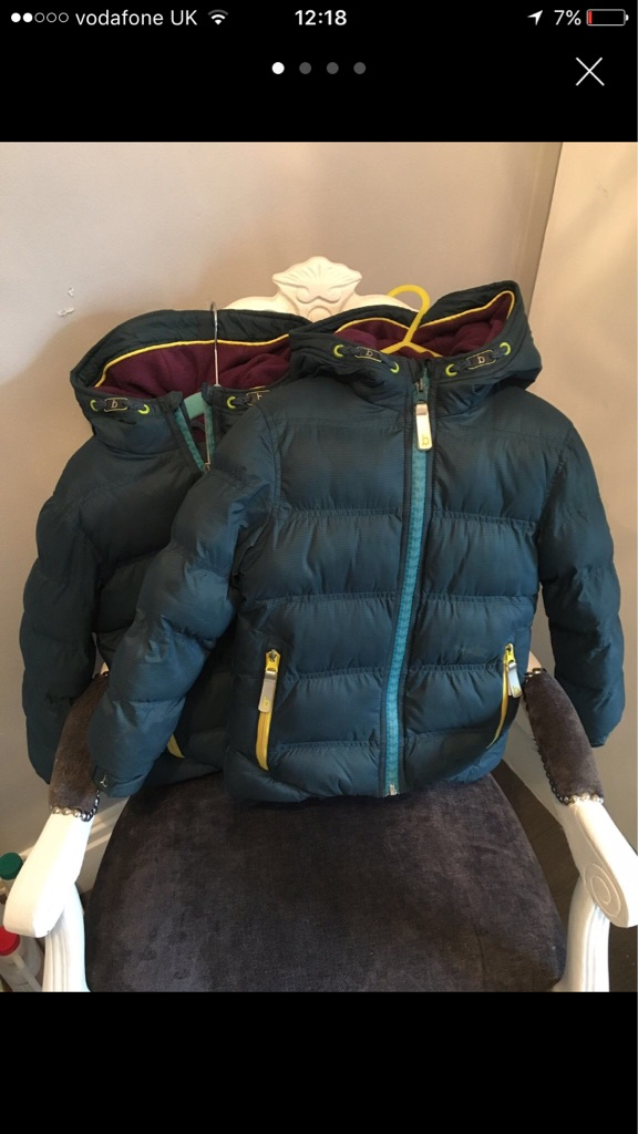 2 boys ted baker coats