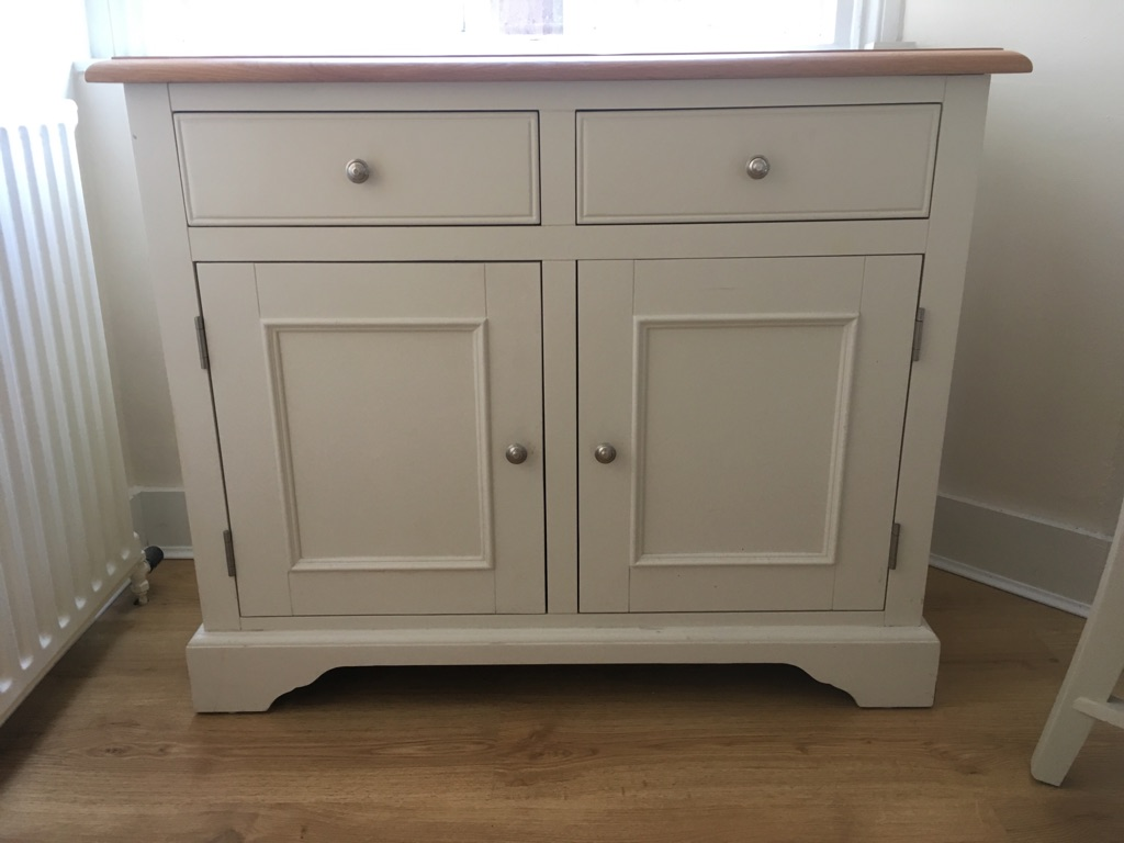 Solid Oak Top Sideboard/Standing Cupboard