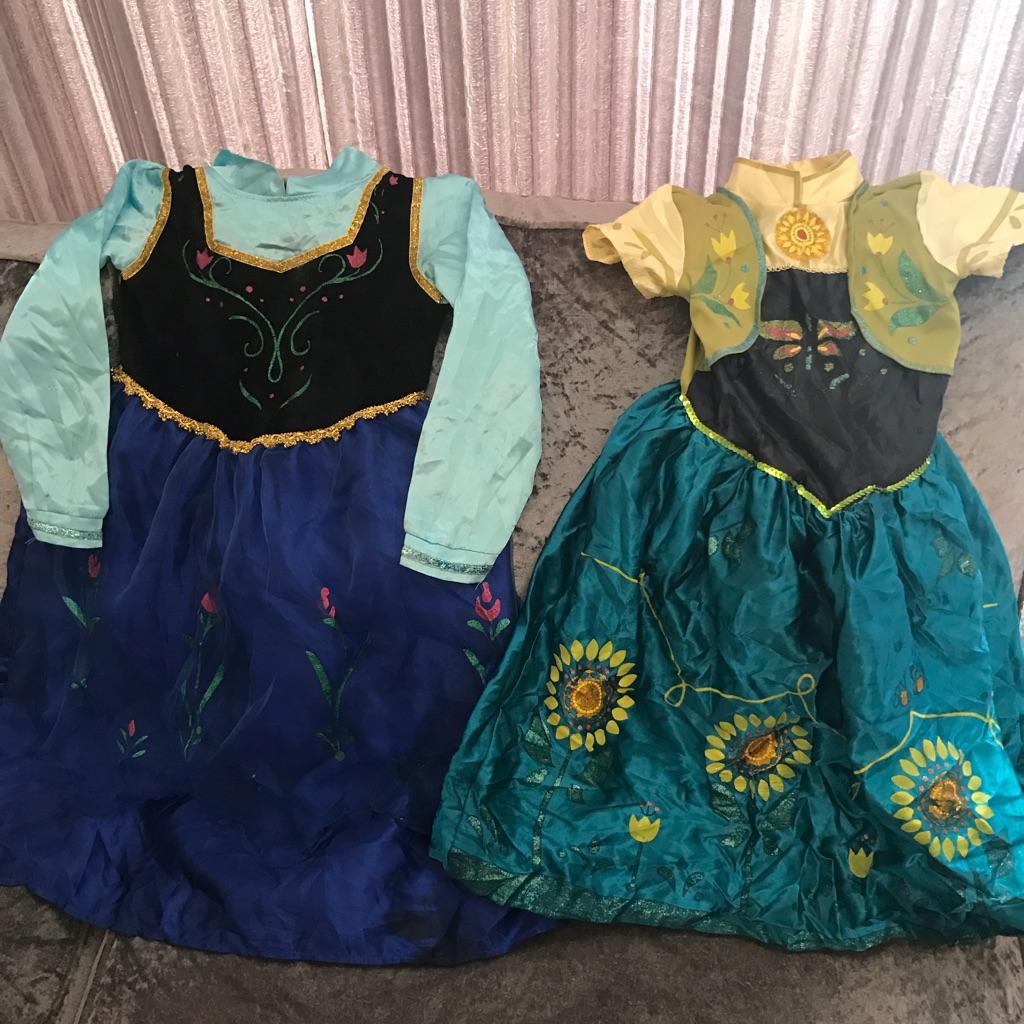 Princess Anna costumes