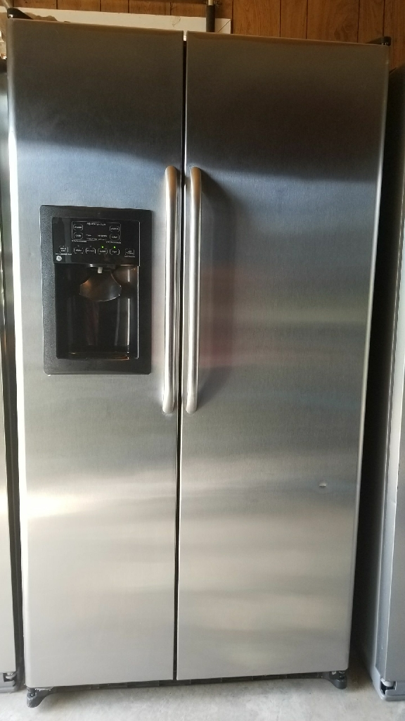GE Stainless Side By Side Refrigerator