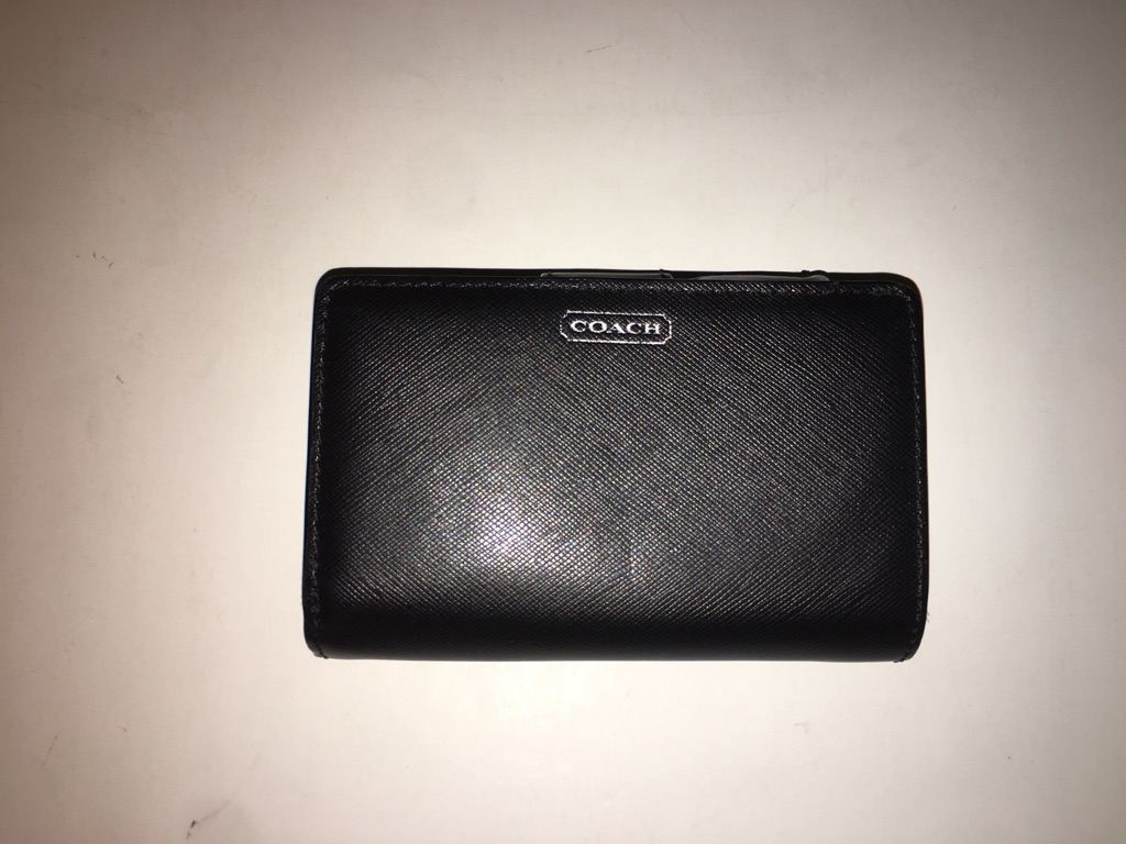 Coach Park Leather small wallet