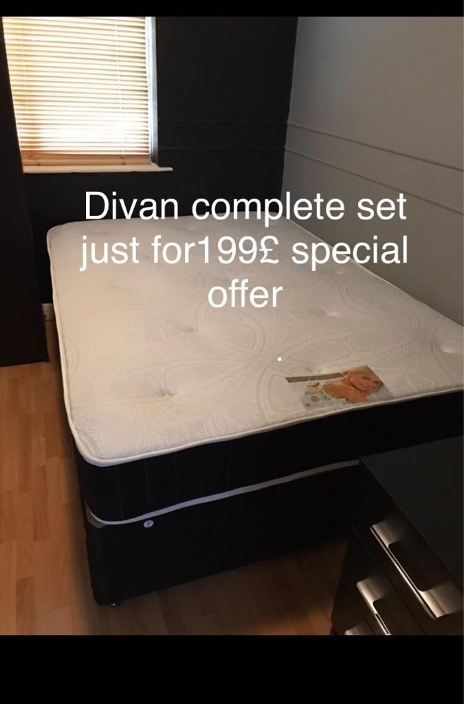Brand new special offer divan complete set