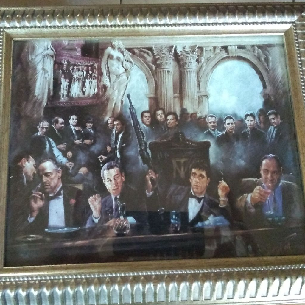 Make Way For The Bad Guys Framed Picture