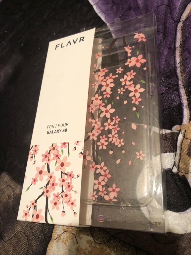 Flavr Samsung Galaxy S8 Iplate Case Cover Sakura