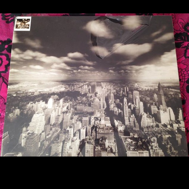 Brand New Sealed Printed Canvas, New York Sky, 70X60cm