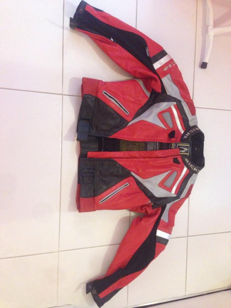 Richa motorbike jacket size 14