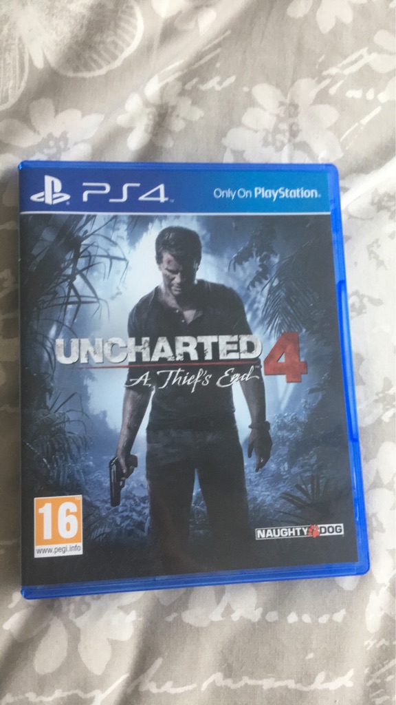 Uncharted 4, A thief's end. Assassins Creed Syndicate. PS4.