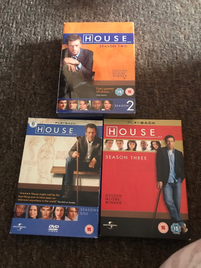 House Seasons 1-3