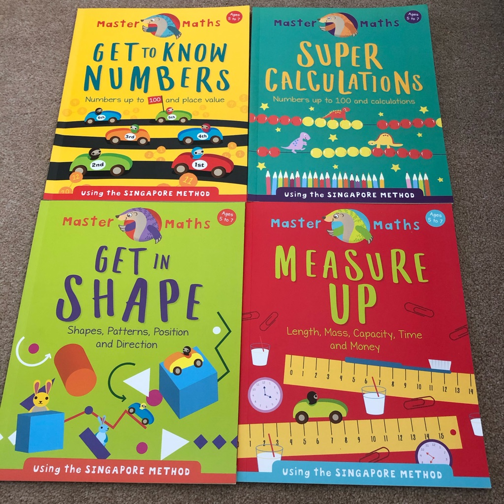 Math teaching and practice books