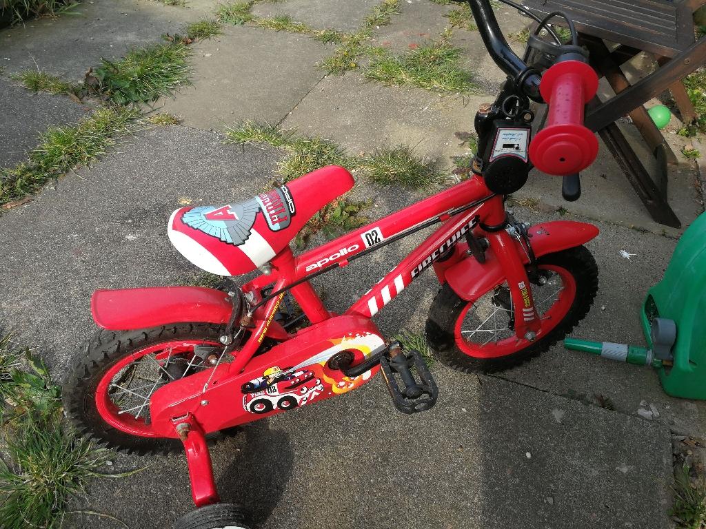 Fireman Sam toddler bike
