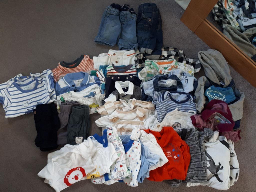 Large Bundle Newborn Boy Clothes