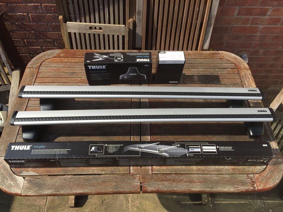 Thule Roof Bars Golf MK5&6