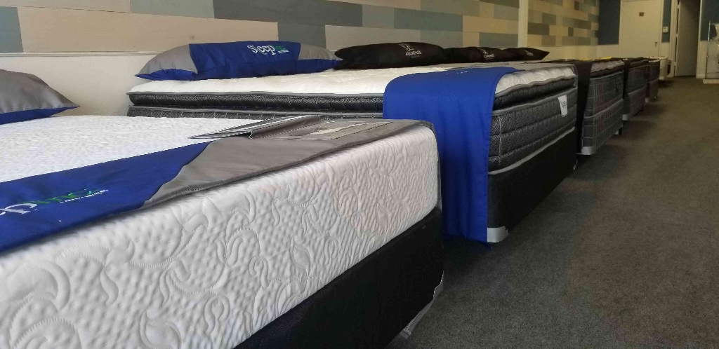 Factory Direct beds starting at $125 with warranty! $5 Down until 4/30