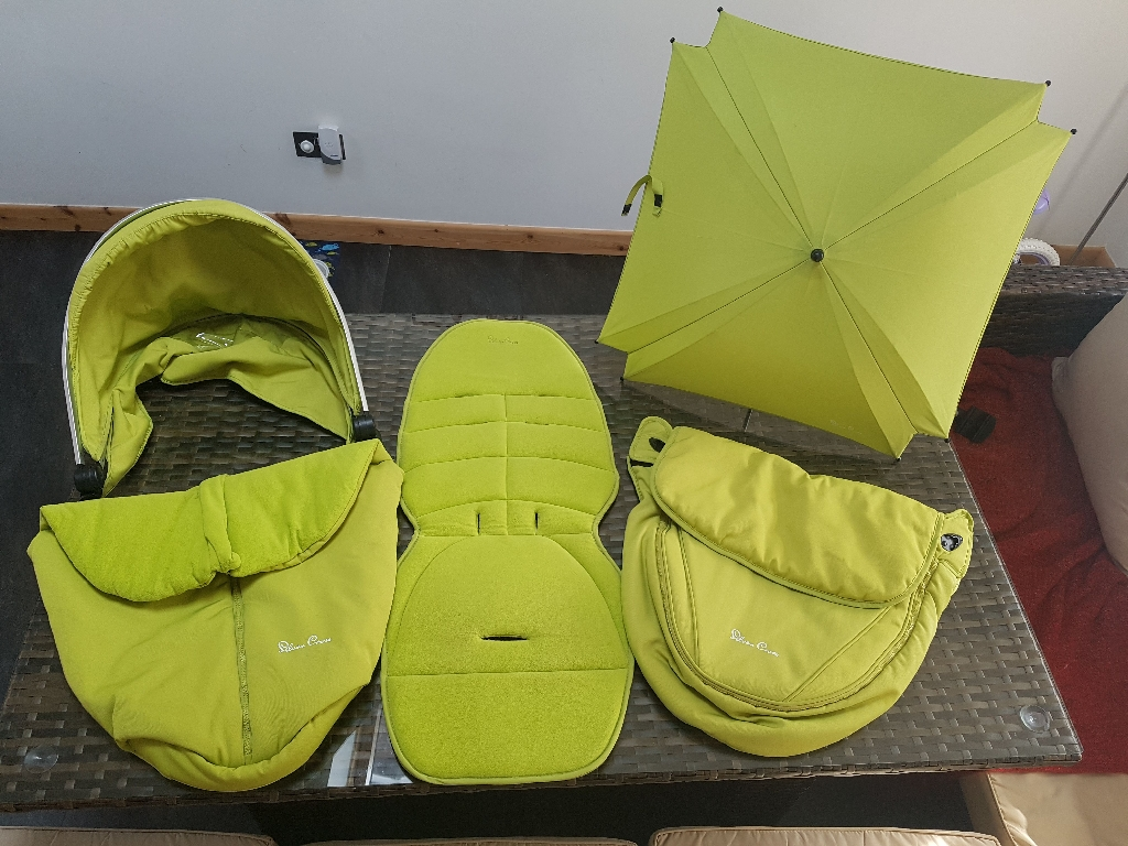 Silver Cross Surf Lime Colour Pack