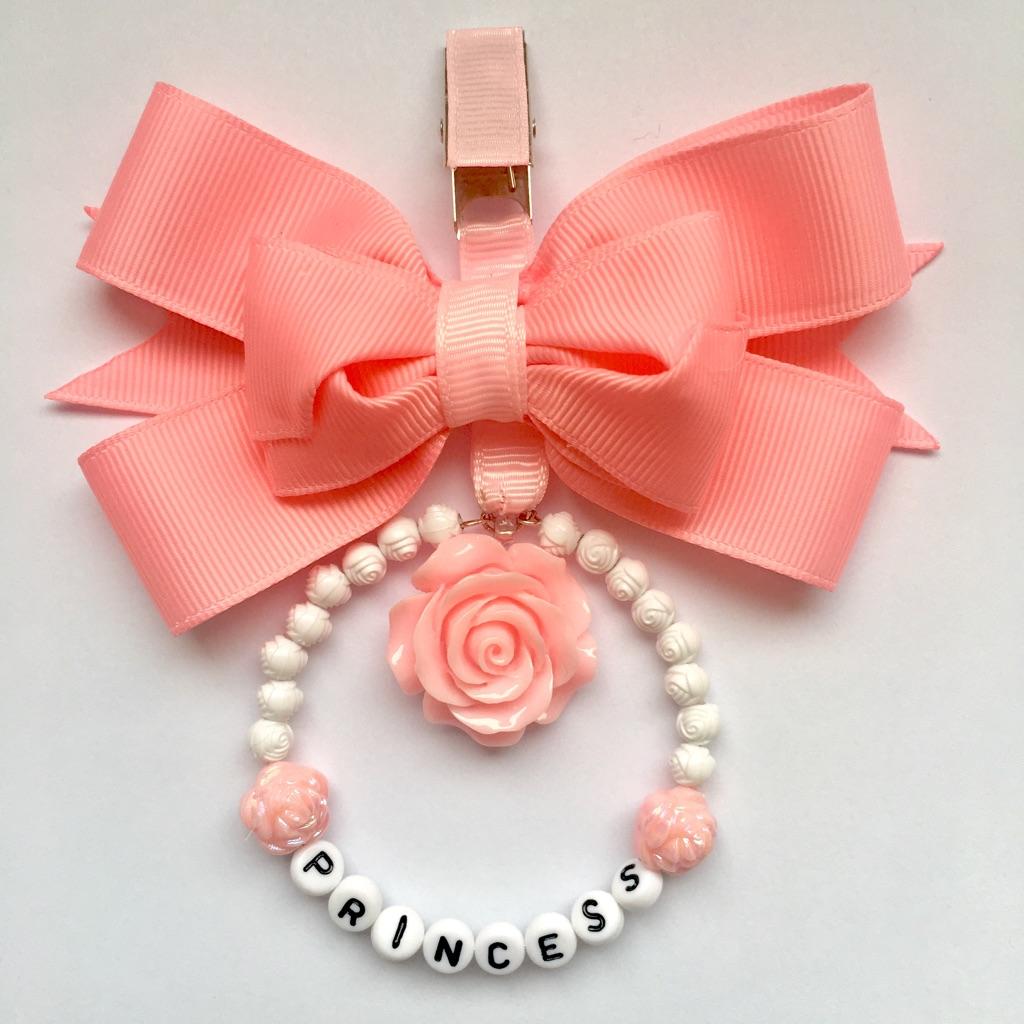Pink pram charm