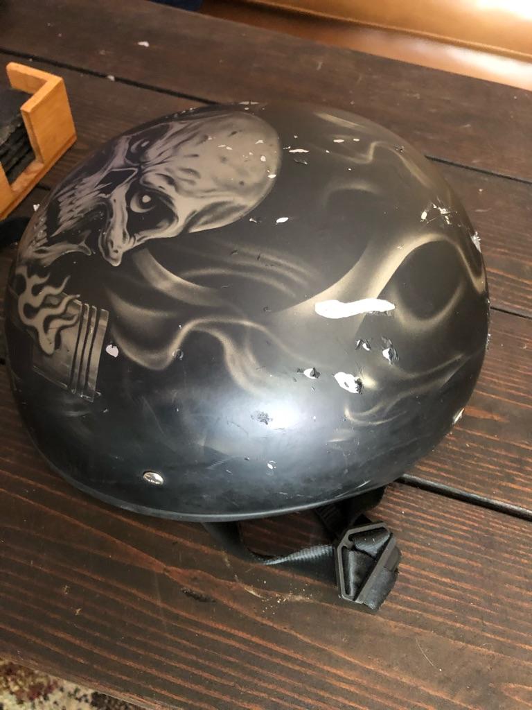 Motorcycle cap