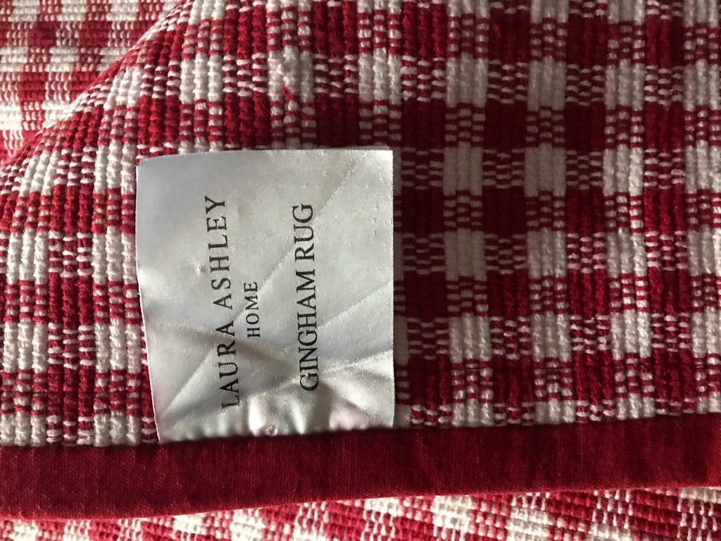 White Company Cot bed linen & Laura Ashley Rug