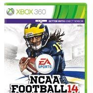 NCAA Football Game 14 XBOX 360