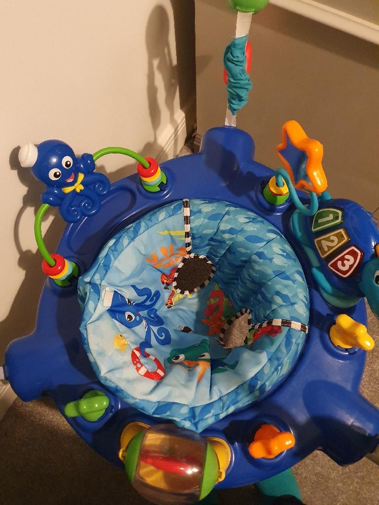 Baby einstein under the sea jumperoo