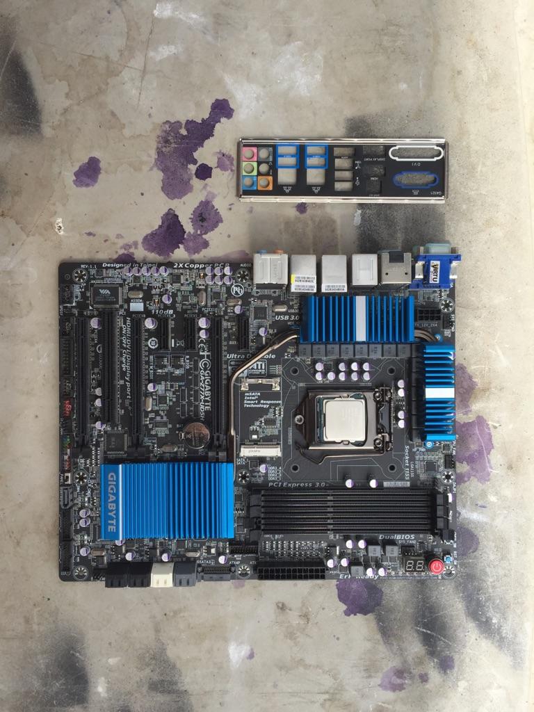 Motherboard + CPU