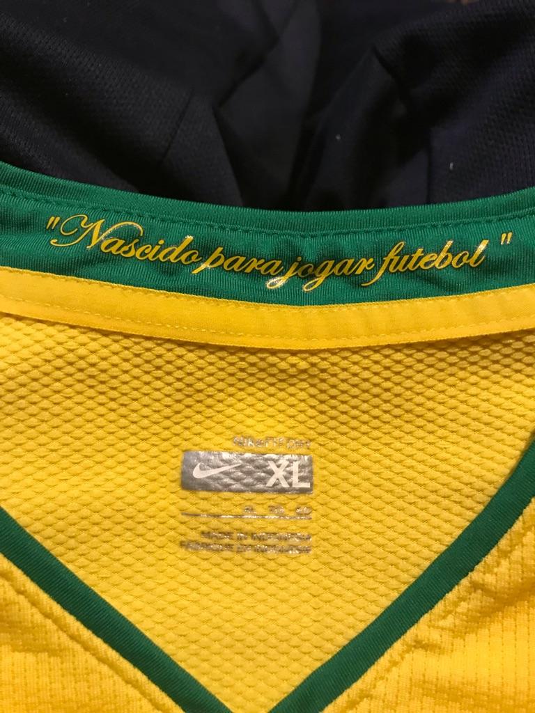 Nike Brazil CBF National Soccer Team Jersey