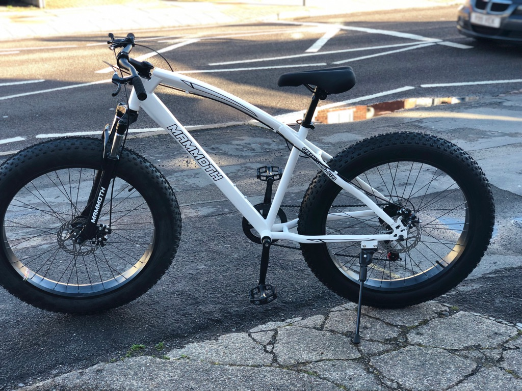 Mammoth Fat Tyre Mountain Bike with Gears New