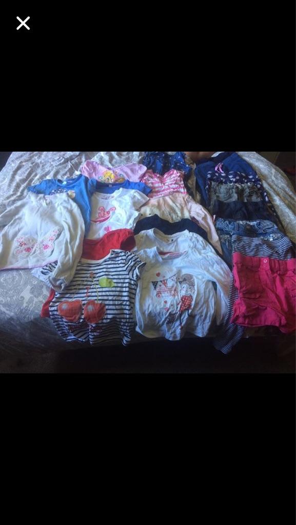 Girls 3-4 age bundle 21 items