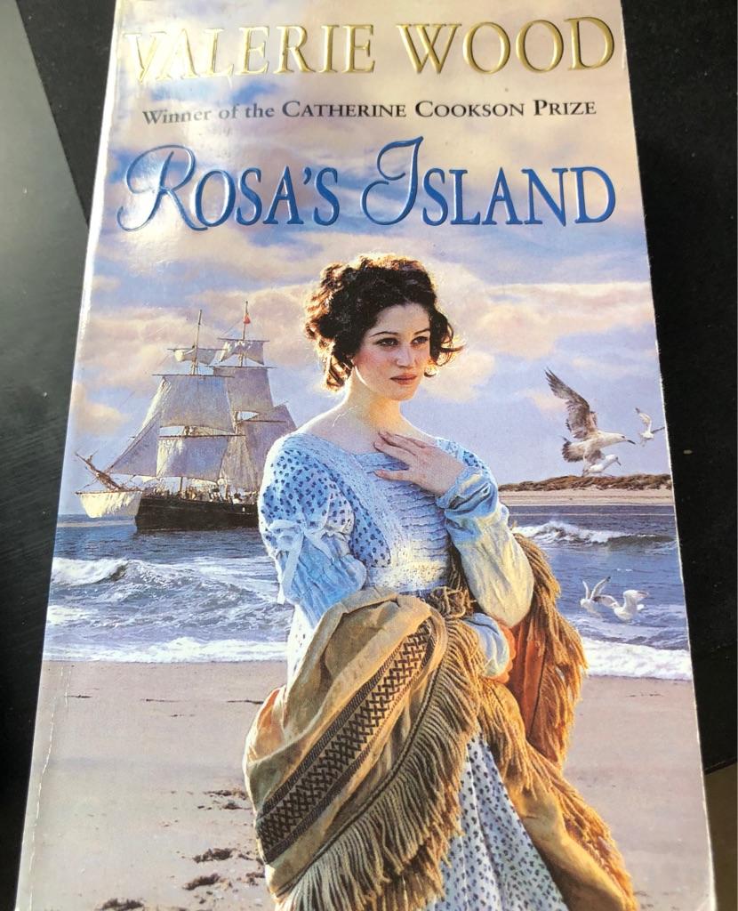 ROSA'S ISLAND BOOK