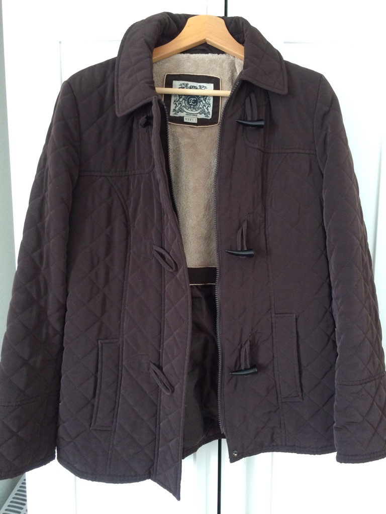 ESPRIT warm jacket -large but in medium size