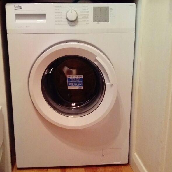 Beko 6 kg washing machine - white