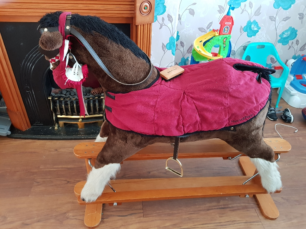 Mamas and papas solomon rocking horse