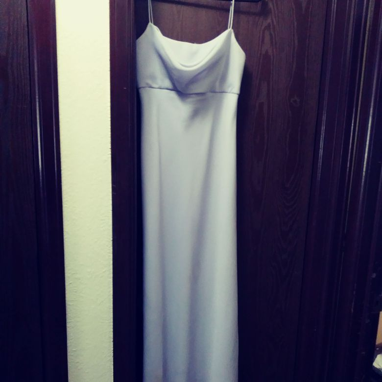 Floor length lilac bridesmaid dress. Worn once. Bought new for $125