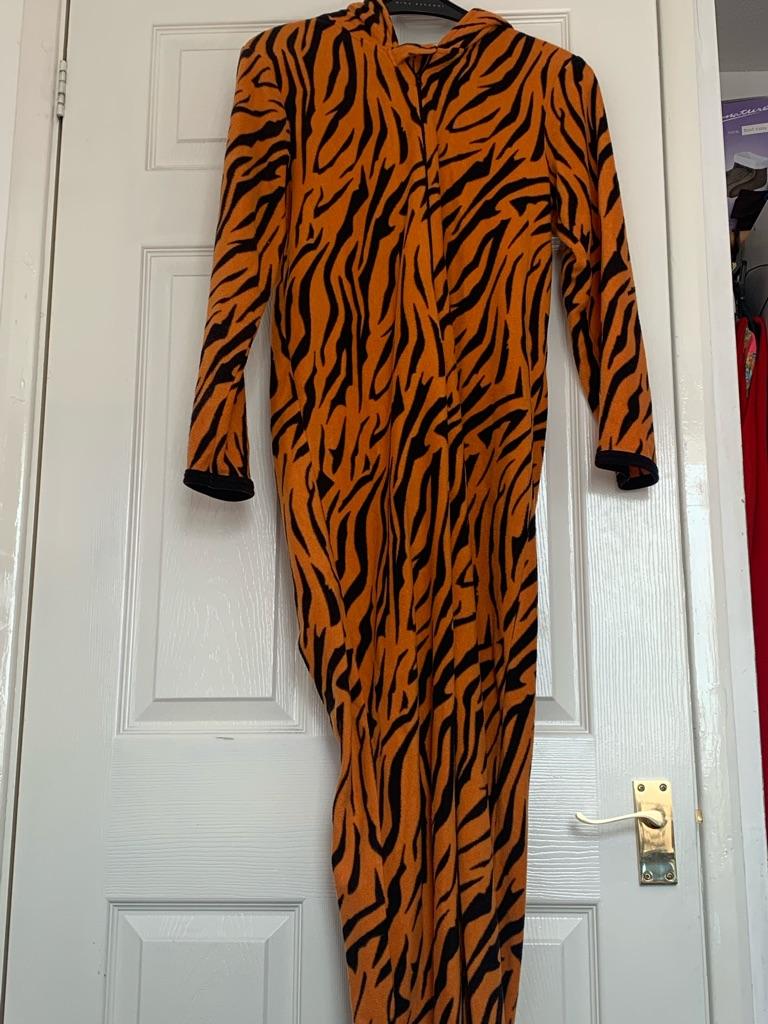 Tiger onesie.