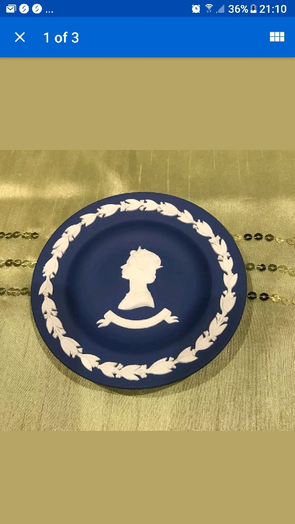 Wedgwood small plate
