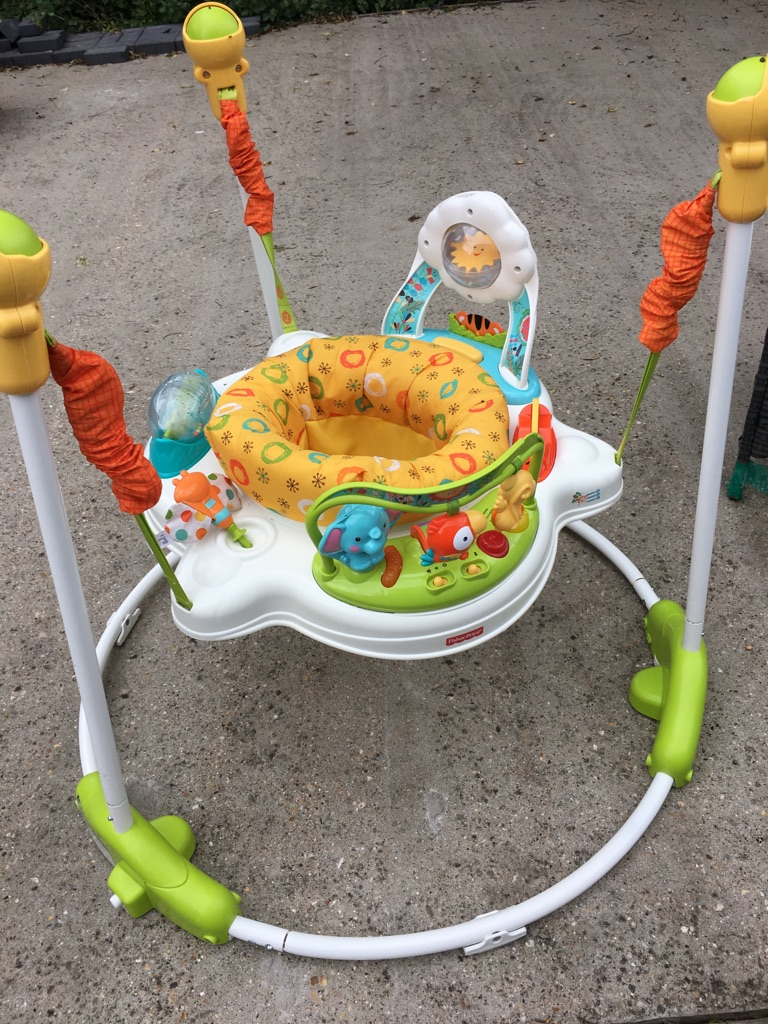 Baby walker and jumperoo