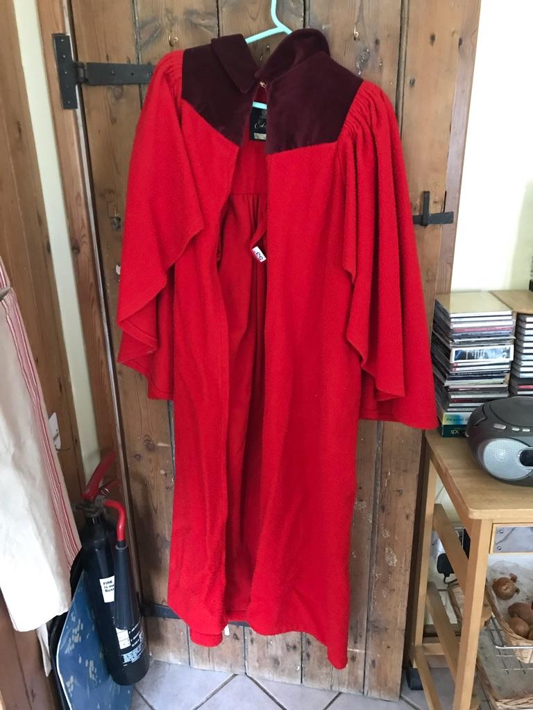 St Andrews Undergraduate gown