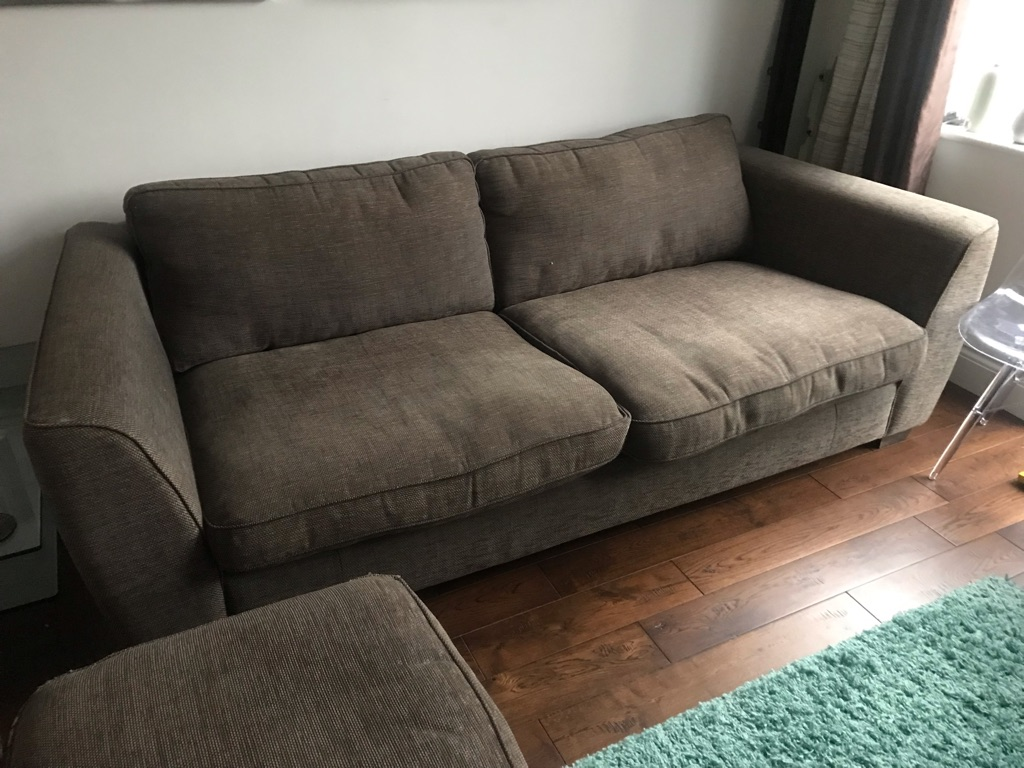 Brown/Black sofa