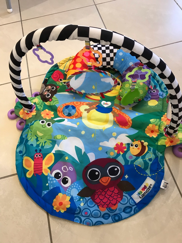 Lamaze baby play mat/gym