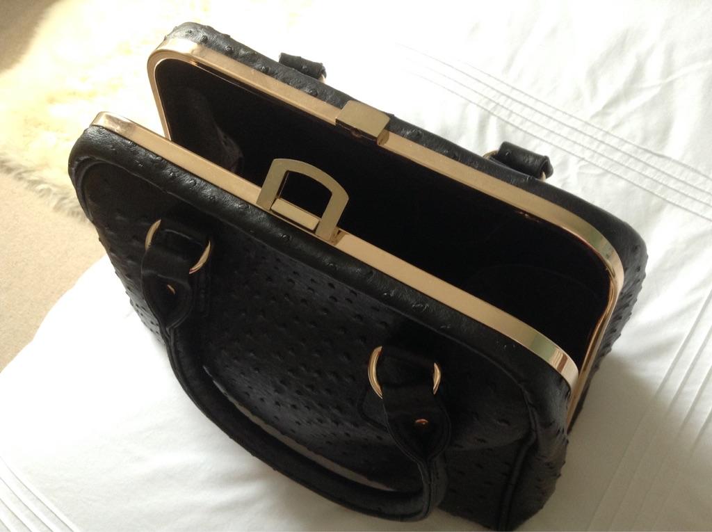 Black handbag for sale