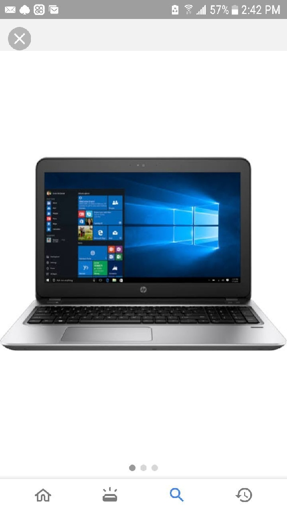 HP 17z laptop