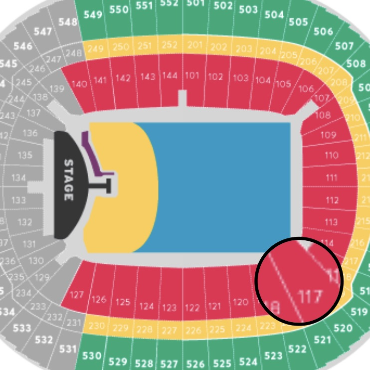 2 Bon Jovi tickets