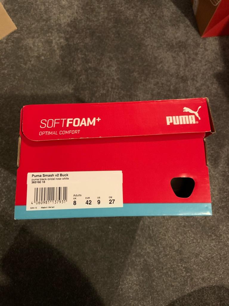 Ladies puma trainers size 8