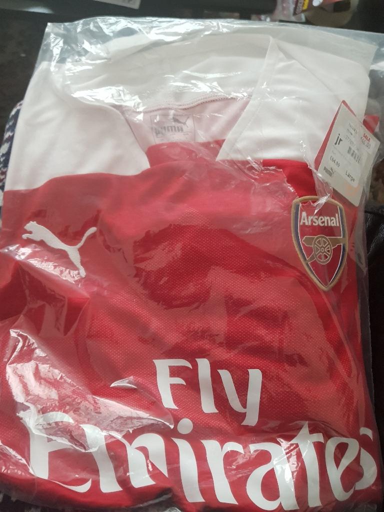 Arsenal official football shirt